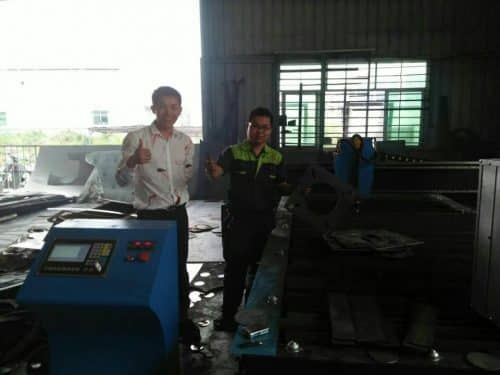 Plasma cutting machine clients